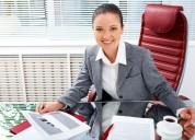 Auxiliar de oficina c/sin experiencia