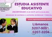 Diplomado asistente educativo