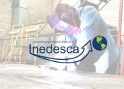 INEDESCA Fabricante Industrial Elevación de Personal