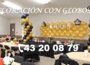 DecoraciÓn con globos para graduaciÓn, mesa de dulces, hermosas y econÓmicas, garantizado!!!