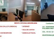 Rento oficina amueblada 9 m2 en la zona rosa
