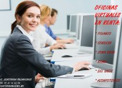 Oficinas virtuales a tu servicio en santa fe