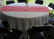 Renta de sillas, mesas y tablones para eventos