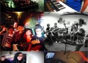 curso de verano para niños y jóvenes especializado en bandas de rock, vocales y dj