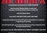 Se buscan musicos para proyecto propio genero metal, letras en ingles no covers no rockstars