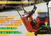 Cortadora de concreto y asfalto ca20 motor honda 20 hp gx630