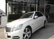 Mercedes benz clase e 2012 58218 kms