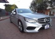 Mercedes benz clase e 2014 17000 kms