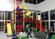Juegos infantiles modulares tipo laberinto para particulares, escuelas, maternal, restaurantes y má