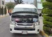 Toyota hiace 2014 seguros vidrios electricos aire acondicionado