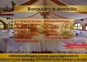 Banquetes  a domicilio para todo tipo de eventos