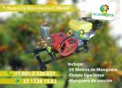 Parihuela fumigadora motor 6.5 hp ecomaqmx