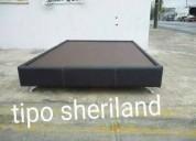 Bases de cama tapizadas entrega inmediata!!!