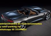 Estacionamientos servicios y valet parking