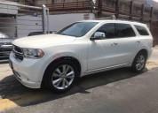 Dodge durango crew lux 2012 42000 kms