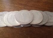 Vendo 12 monedas de plata