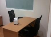 Rento oficina amueblada 7 m2 en la zona rosa