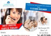 Asesores telefónicos (ventas)