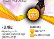 Jueves 22 en csw: ¡conejita de playboy desnuda!