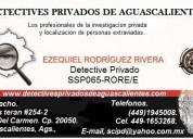 Detectives de aguascalientes