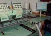 Embtec venta de máquinas bordadoras computarizadas.