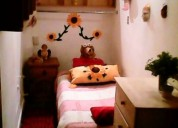 Habitacion  o cuarto  para dama col.roma chiquito  con servicios  sin deposito