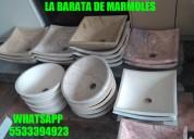 !!! fantasticos lavabos en mármol ofertados, no te quedes sin el tuyo !!!