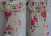 Bellas blusas de dama manga corta y larga
