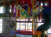 Juegos infantiles resistentes, con materiales de la más alta calidad que se traduce en seguridad