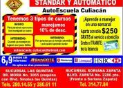 Cursos de manejo con promocion en autoescuela culiacan
