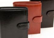 Empaqueta-embolsa carteras de piel. pago desde $3000 a la semana