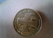 Moneda de coleccion de la catedral de notre-dame 2005