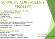 Servicos contables y fiscales
