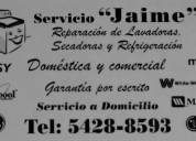 Servicio jaime, línea blanca