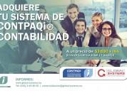 Contpaqi® contabilidad anual (c/1 usuario) a 3,690.00 + iva