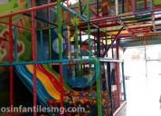 Juegos infantiles playground tipo laberinto mg