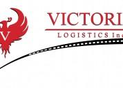 Victoria logistics, inc. logistica en transporte de carga terrestre internacional.