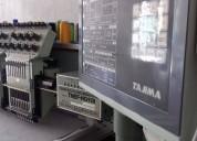 Embtec máquina bordadora computarizada tajima  20 cabezales