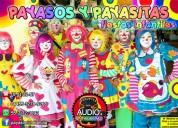 Payasos y payasitas para fiestas infantiles - df/edomex