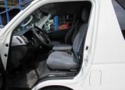 Toyota hiace de pasajeros en venta