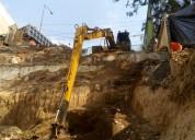 Renta de maquinaria pesada y excavaciones gonzalez.