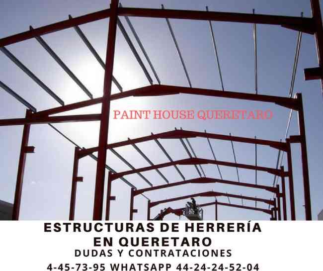 ESTRUCTURAS METALICAS EN QUERETARO