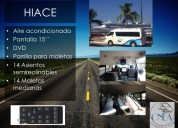 Transporte ejecutivo turÍstico