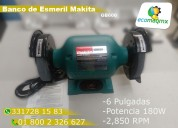 Esmeril de banco makita gb600