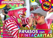 Show de payasos con pintacaritas para tu fiesta - dfyedomex