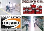 Extinguidores en tijuana recargas, mantenimiento, ventas a domicilio
