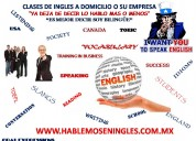 cursos de ingles a domicilio (clase gratis)