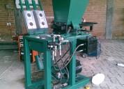 Maquina para hacer ladrillo tipo lego ecologico de dos cavidades