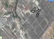 Se vende terreno 3 hectareas inf 878 125 9070