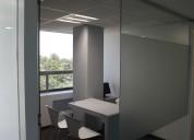 Oficinas físicas equipadas en torre zero